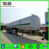Tri remorque de camion-citerne de transport de pétrolier de l'essieu 40000L