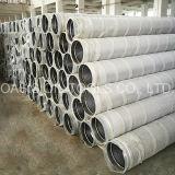Fabricación del tubo de las pantallas de alambre de la cuña del acero inoxidable de China