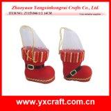Fieltro de las medias de la Navidad del cargador del programa inicial de China de la Navidad de la decoración de la Navidad (ZY15Y046-1-2)