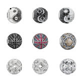 L'europeo caldo dell'argento sterlina di vendite 925 borda i monili per le donne