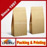 Food (220005)를 위한 인쇄된 Kraft Paper Bags