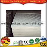 azulejos blancos del techo de la tarjeta de yeso del PVC del color de 9m m