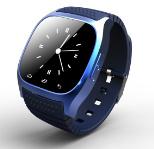 생각나게 하는/음악 플레이어/보수계 다이얼/SMS를 가진 Bluetooth 지능적인 시계 M26