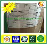 Certificado ISO de 76 mm, rolo de papel térmico de 80 mm para POS