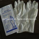 De beschikbare Steriele Chirurgische Handschoenen van het Latex van het Poeder Vrije