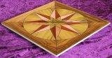 3mm Teak Wooden Veneer Art Parquet Wood Floor