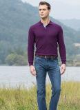Las fundas largas baratas de encargo de la buena calidad del precio aclaran la camisa del golf de los hombres