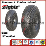 고품질 튼튼한 압축 공기를 넣은 3.25-8 고무 바퀴