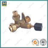 A válvula do aquecedor de água C