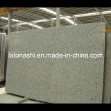 La Cina Polished Flamed Grey Granite Slab per Tombstone, Paving, Countertop