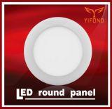 luce di soffitto fredda luminosa eccellente rotonda di CC 24V di bianco della luce di pannello di 7W LED, 12PCS/lotto