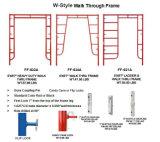 5 ' *6'7 '' [و-ستل] ثقيلة - واجب رسم مشية كلّيّا أطر ([فّ-632ا])