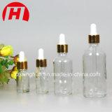 Marrom 5ml de óleo essencial garrafa de vidro com tampa Evidet sabotagem