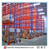 Racking Pó-Revestido do sistema de Palleted do melhor armazenamento pesado do armazém da qualidade euro-