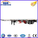 40FT Flatbed Semi Aanhangwagen van de Lading van de Container 2axle