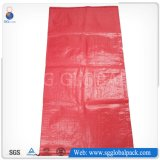 rote pp. gesponnene Säcke 50kg für verpackenbohnen