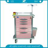 Kosteneffektive ABS Emergency medizinische Laufkatze (AG-ET007B4)