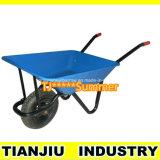 Wheelbarrow Wb4211 da construção com a roda 3.50-7 para o mercado de Turquia