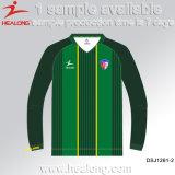 Healong Retro 완전히 승화된 도매 공백 획일한 셔츠 축구 Jerseys