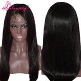 Livraison rapide de 100 % vierge péruvien sèche Full Lace Wig de taille moyenne