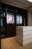 2016 laque mat Welbom moderne de couleur crème promenade dans le placard penderie