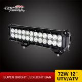 トラックのためのライトバーを働かせている12inch 72Wのクリー語LED