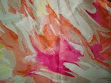 Tela de estiramento de seda do cetim da impressão