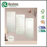 Белый грунтовка покрытием HDF деревянные двери