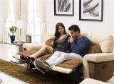 Lederne Geweberecliner-Möbel für Wohnzimmer