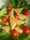 100% triangoli fatti a mano Samosas di verdure 12.5g/Piece * casella 102piece/Carton