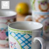 Taza de cerámica de la insignia de Promotion Gift Custom Company