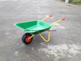 手押し車Wb0102の一輪車手トラックのカートのトロリー