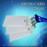 Cartão em branco de PVC de RFID de plástico de 125kHz, Smart Card