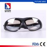 Anteojos de las gafas de seguridad con la correa elástico ajustable para la prueba Fxq026 del polvo del viento