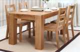Таблица твердого качества обедая таблицы древесины дуба самого лучшего обедая (M-X1015)