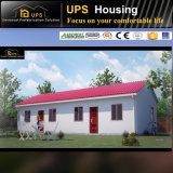 Бунгало дома семьи живущий Prefab с планом конструкции и фотоим 3D
