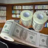 トイレットペーパーのロールによって印刷されるトイレットペーパーの卸売の製造者