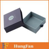 Pequeña cartulina rígida que resbala el rectángulo de regalo de empaquetado del cajón del papel