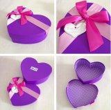 [هندمد] قلب شكل صندوق صلبة لأنّ زهرة /Rose يعبر