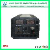 充電器及びデジタル表示装置(QW-M1500UPS)が付いている1500W UPS車力インバーター