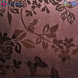Цвет нержавеющей стали Huaye выбитый листом декоративный для домашнего декора