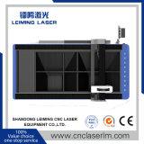 Máquina de estaca Lm2513FL do laser da fibra da placa de metal para a indústria de anúncio