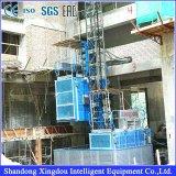 Elevador da grua do edifício da construção da maquinaria/grua do passageiro com seção do mastro