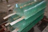 """5/32 """" di vetro temperato Polished rotondo del galleggiante della radura del bordo"""