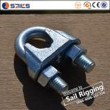 Wir Typ formbarer Stahl galvanisierte Kabelklemmen