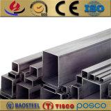 6061-T6 Aluminium extrudé tube carré de la case Sections avec traitement anodisé