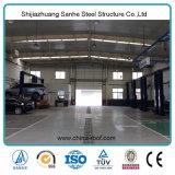 Magazzino prefabbricato leggero del garage dell'automobile della struttura d'acciaio
