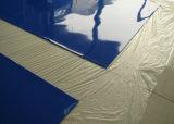 Blaues Farben-Silikon-Gummi-Blatt, Silikon-Membrane