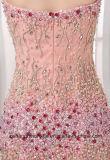 Frauen-Nixe Tulle, das reizvolles Abend-Partei-Abschlussball-Kleid bördelt