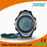Relógio profissional do monitor da frequência cardíaca de Wirless (JS-703A)
